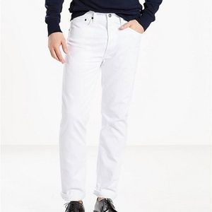 Authentic 501 Original Fit Jeans in White